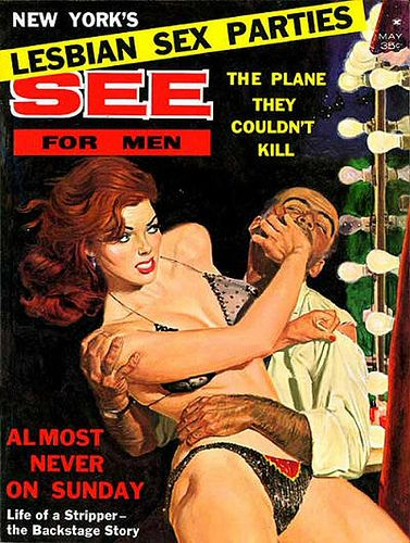 https://flic.kr/p/62BtrG   See For Men Magazine, Cover Art - 1962 May
