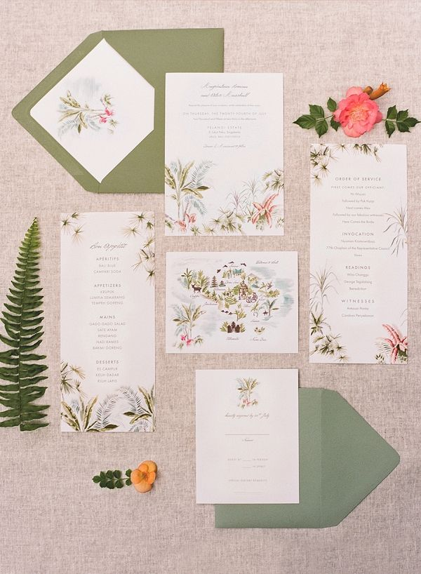 102 best Tropical Invitations & Stationery images on Pinterest ...
