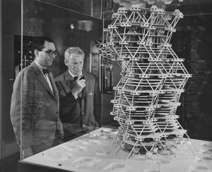 © louis kahn - city tower project - Philadelphia, USA -1952 http://archimodels.info/image/63149152824