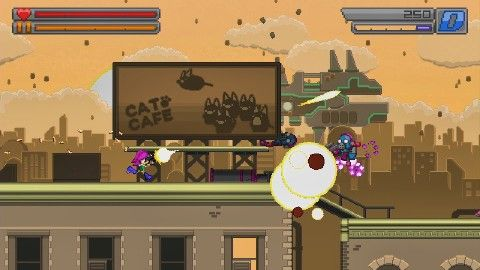 4 Minutes of Bleed 2 Gameplay - PAX West 2016 Check out awesome gameplay from this classic high action fast paced side scrolling shooter September 05 2016 at 01:33AM  https://www.youtube.com/user/ScottDogGaming