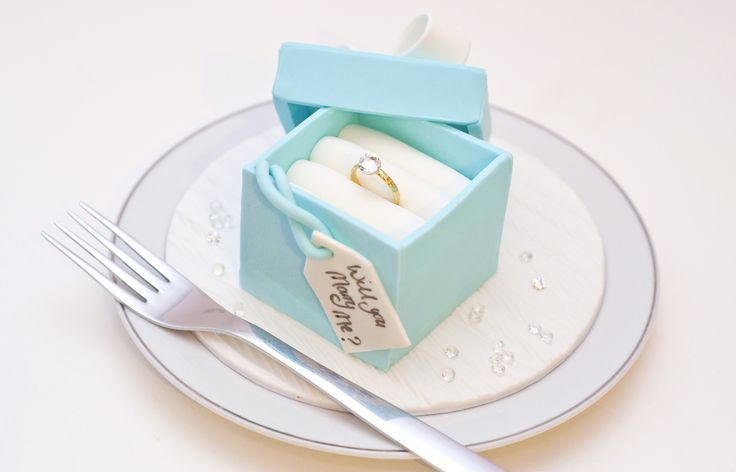 Proposal Cake - GC Couture