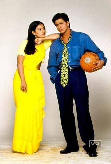 "Kuch Kuch Hota Hai with Kajol ""are you ok? What's with the saree?"""