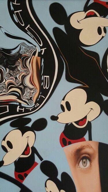 """Carla Bresciano, oil on canvas """"Happy Birthday"""""""
