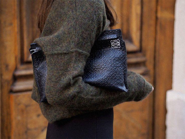 Dream Handbags: Loewe T Pouch - teetharejade.com