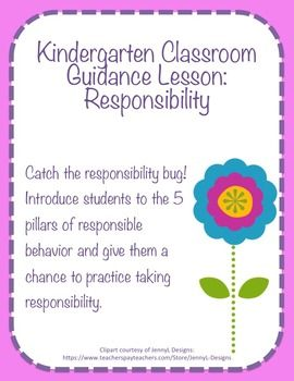 Classroom Guidance Counseling Lesson: Responsibility (scheduled via http://www.tailwindapp.com?utm_source=pinterest&utm_medium=twpin&utm_content=post24264008&utm_campaign=scheduler_attribution)