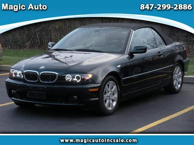 Used 2006 BMW 3-Series 325Ci convertible for Sale in Chicago IL 60016 Magic Auto
