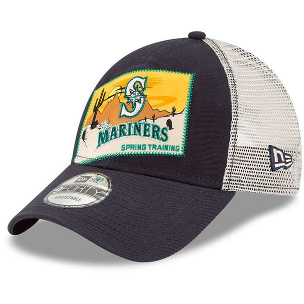 competitive price 1a105 77869 Men's Seattle Mariners New Era Navy 2018 Spring Training ...
