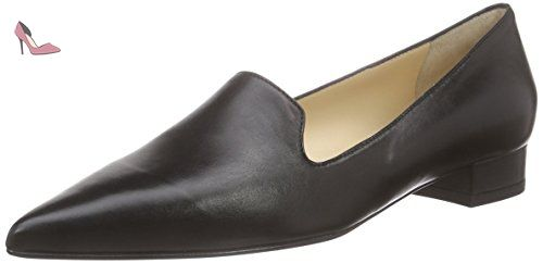 Evita Shoes Slipper, Mocassins Femme, Noir-Schwarz (Schwarz 10), 41 EU - Chaussures evita shoes (*Partner-Link)