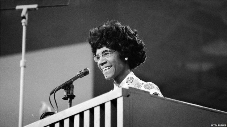 Shirley Chisholm at the Democratic National Convention in 1972