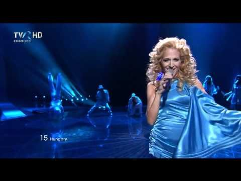 HD Eurovision 2011 Hungary: Kati Wolf - What About My Dreams? (Final) - YouTube