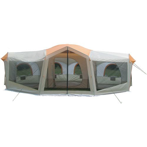 Ozark trail 10 person 24 x 17 family cabin tent large for What is a tent cabin
