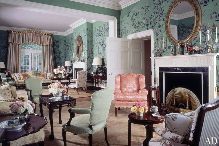 Ad100 Designer Mario Buatta S Timeless Interiors The