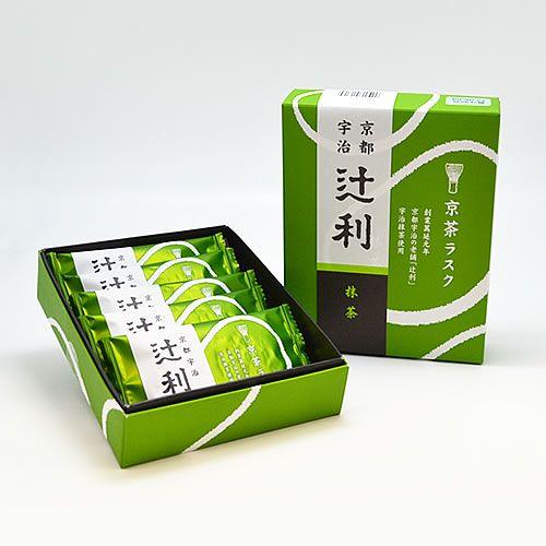 辻利 京茶ラスク 抹茶(5枚入)