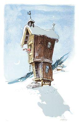 Nisse neighbor by Kjell Aukrust