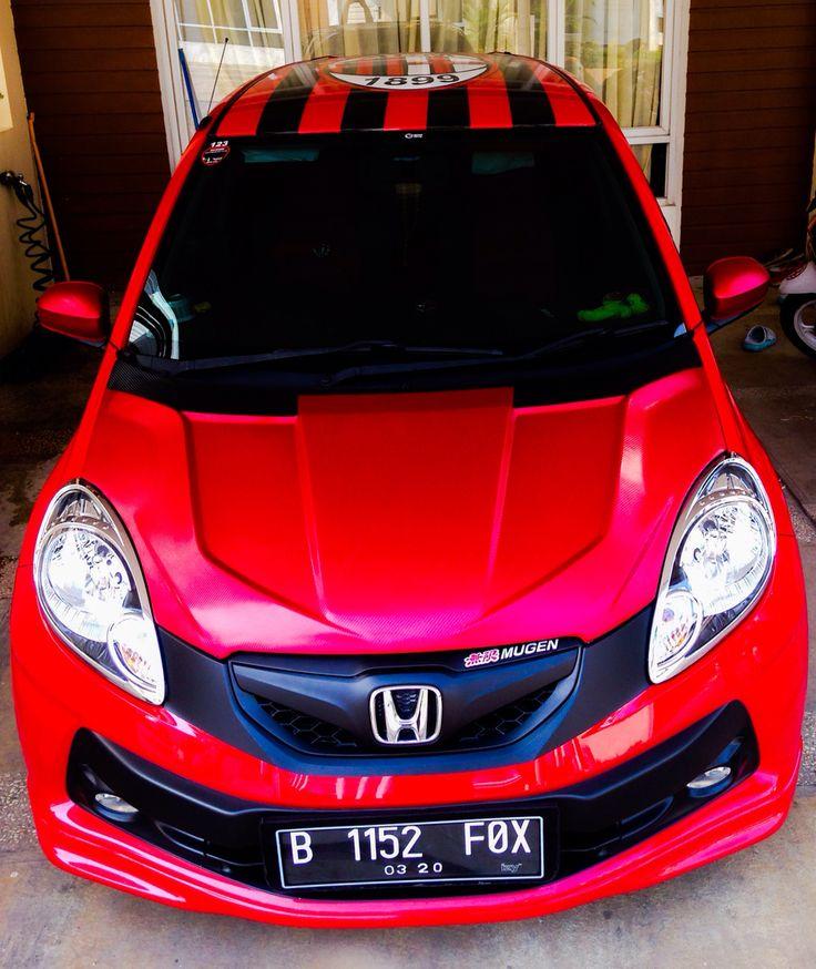 Honda Brio rally red-4