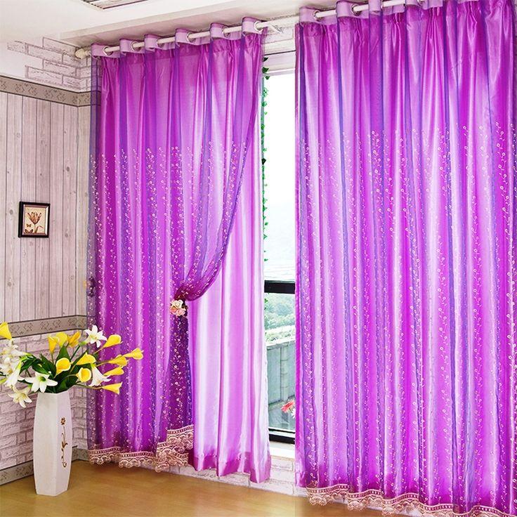 Best 25+ Purple bedroom curtains ideas on Pinterest ...