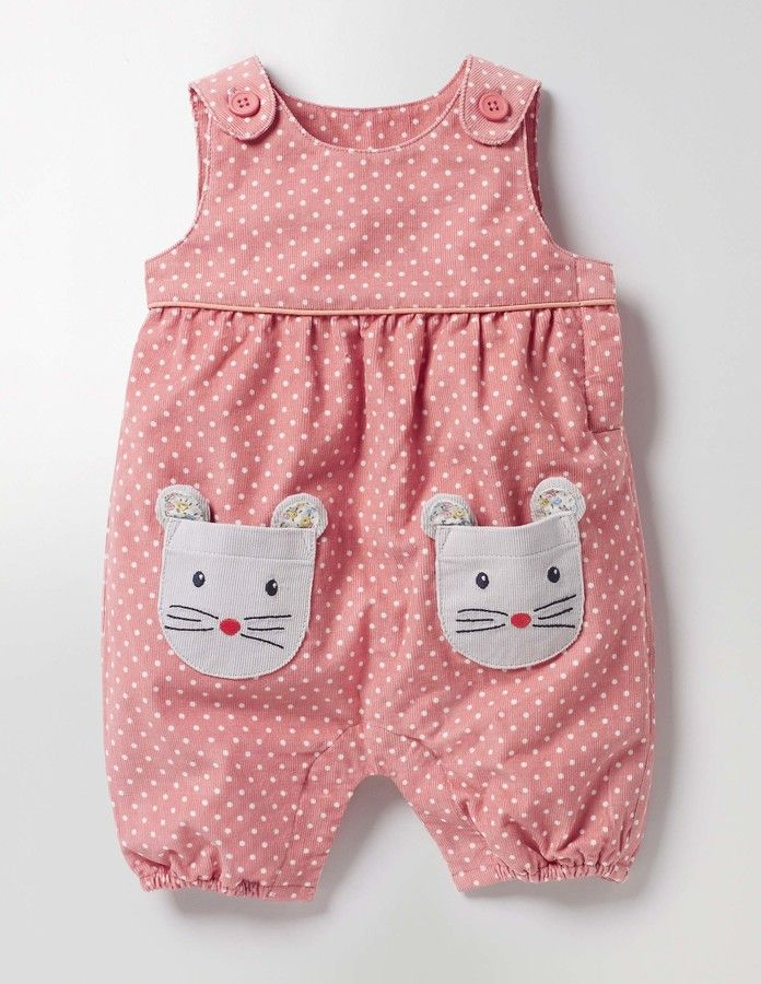 Love the mouse pocket detail on this kids romper suit Fun Cord Romper #affiliate