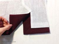 Como fazer fendas forradas para casacos, saias e mangas – Parte 2