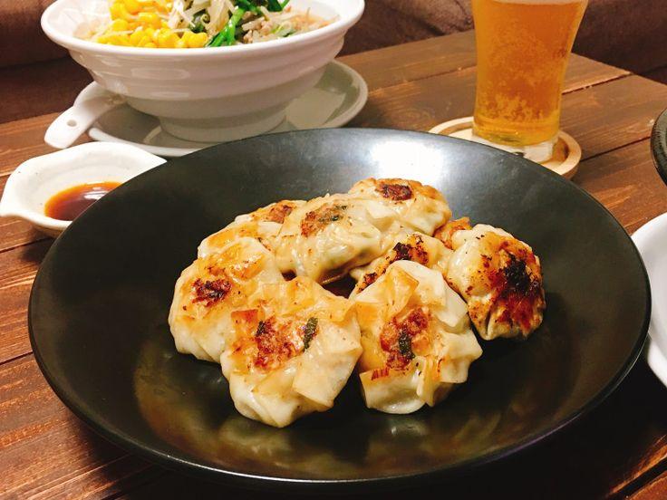 味噌ラーメンと餃子で乾杯金曜日‼︎|ゆうき酒場