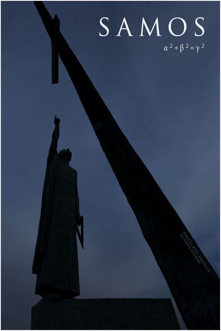 Statue of Pythagoras, Pythagoreion, Samos