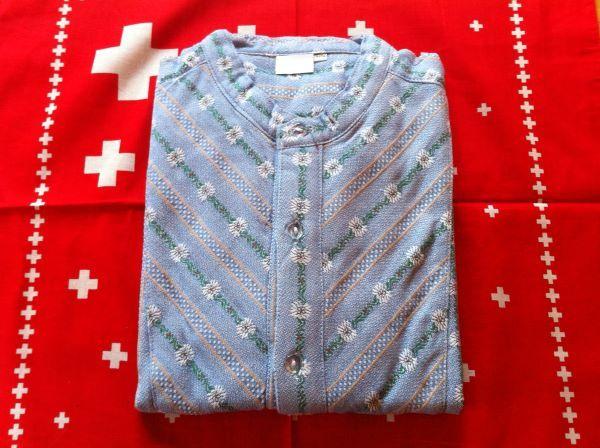 Edelweiss Hemd kurzarm Gr. 43/44 XL