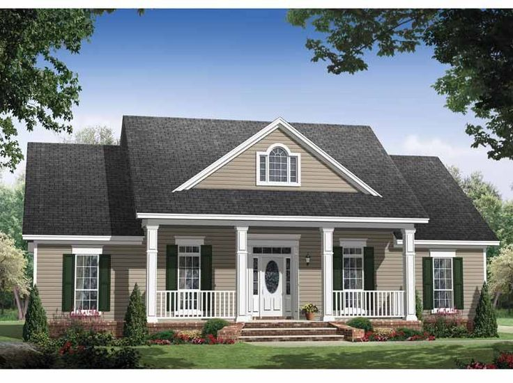 Traditional House Plan With 1903 Square Feet And 3 Bedrooms From Dream Home  Source | House