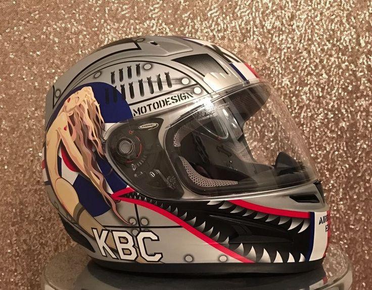 KBC Airborne Edition II Size L Rare Motorcycle Helmet #KBC
