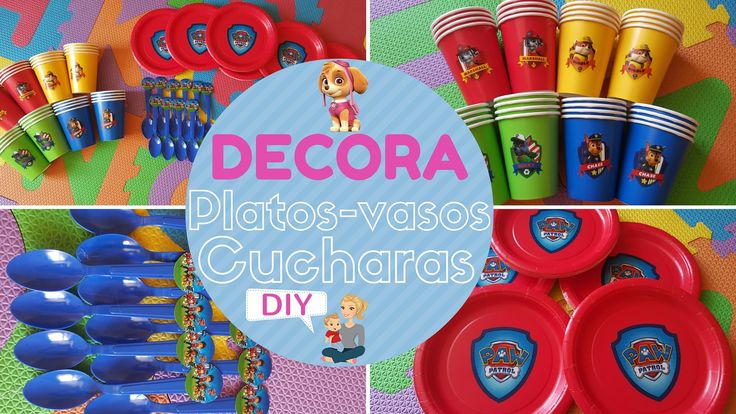 DECORAR CUMPLEAÑOS PATRULLA CANINA/ PAW PATROL BIRTHDAY PARTY IDEAS