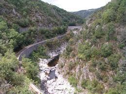 Chemin de fer vers Lamastre