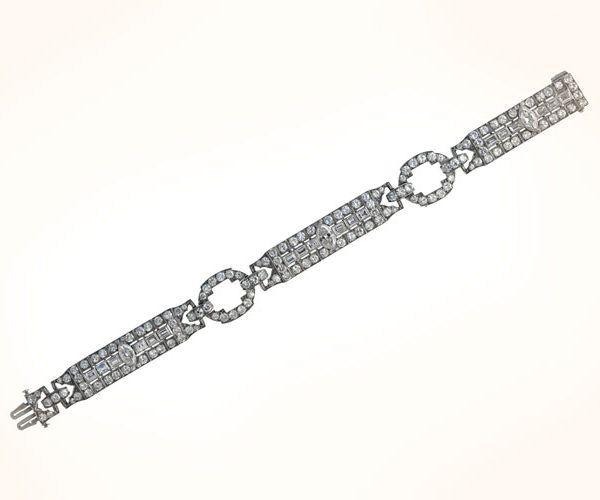 Deco Bracelet. Circa 1925
