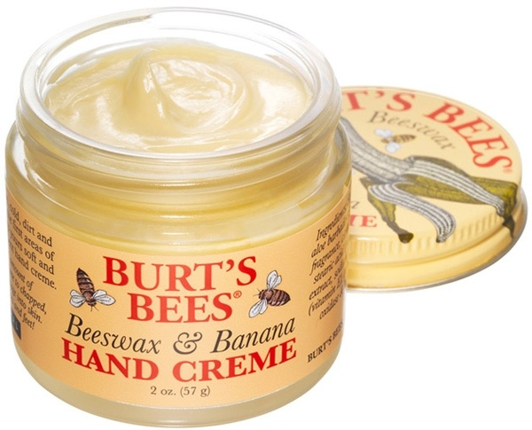 Burt's Bees Beeswax & Banana Hand Creme ~ the scent is to DIE for :)
