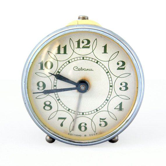 Beautiful Old Russian Alarm Clock
