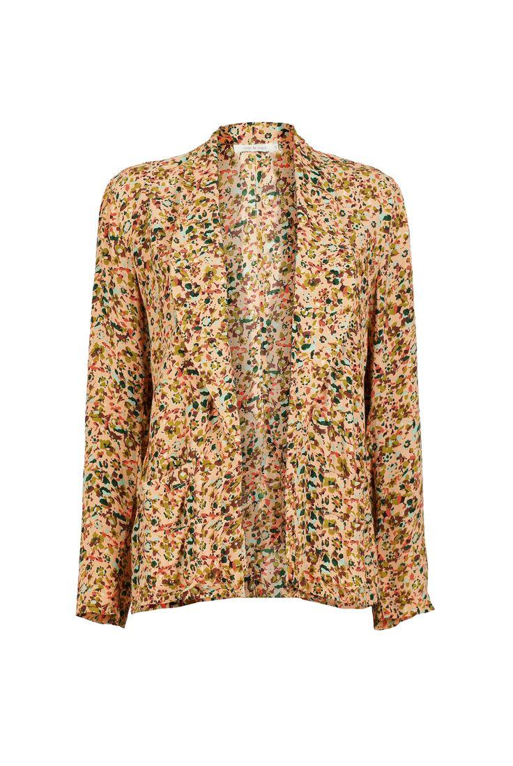 Blazer de flores de indi & cold (www.indiandcold.com) - Summer jacket - EB x