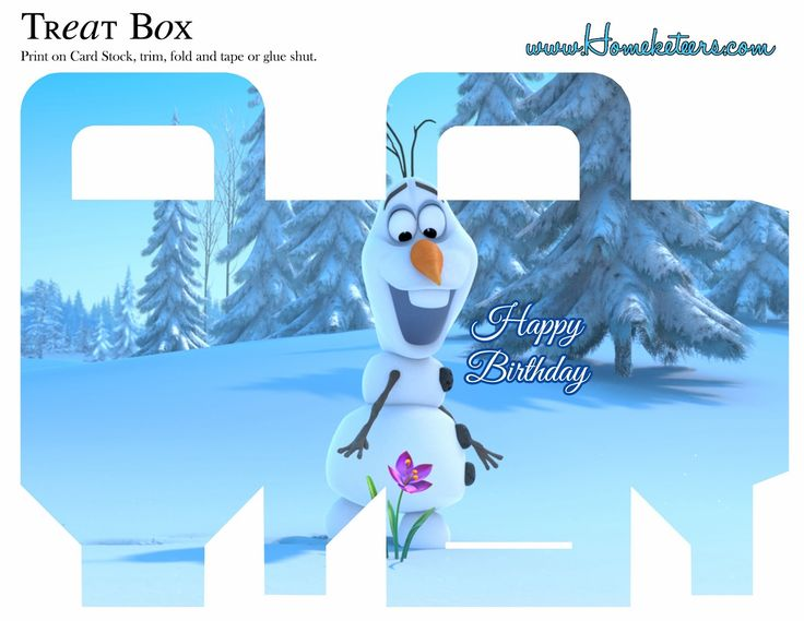 Frozen: Free printable Boxes. - Is it for PARTIES? Is it FREE? Is ...