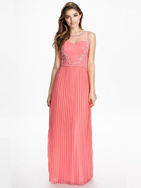 sophie maxi dress chi chi london rosa partykleider. Black Bedroom Furniture Sets. Home Design Ideas