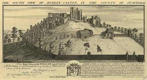 South View of Dudley Castle in Stafford