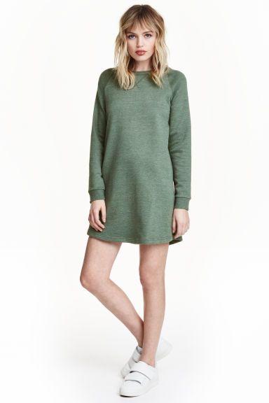 Šaty z teplákoviny | H&M
