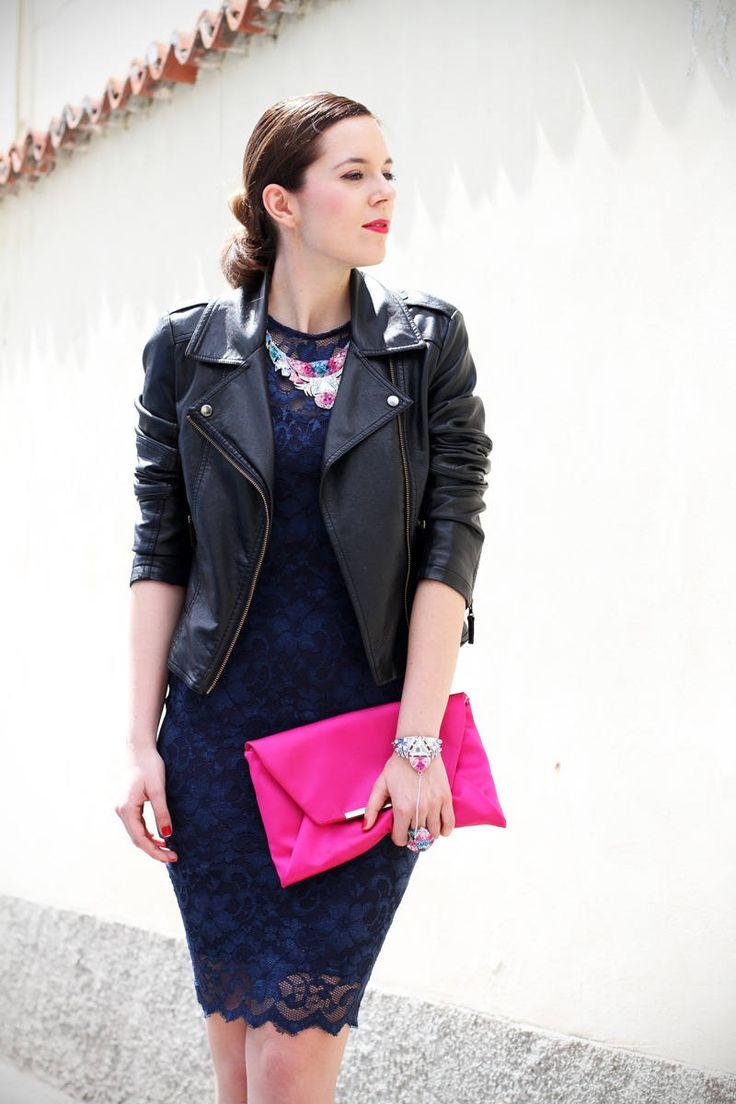 Casual Chic: E Se Il Dress Code Dell'evento Del Sabato Sera Fosse Mix And Match? ( Leather Jackets & Clutches ) with Irene Colzi