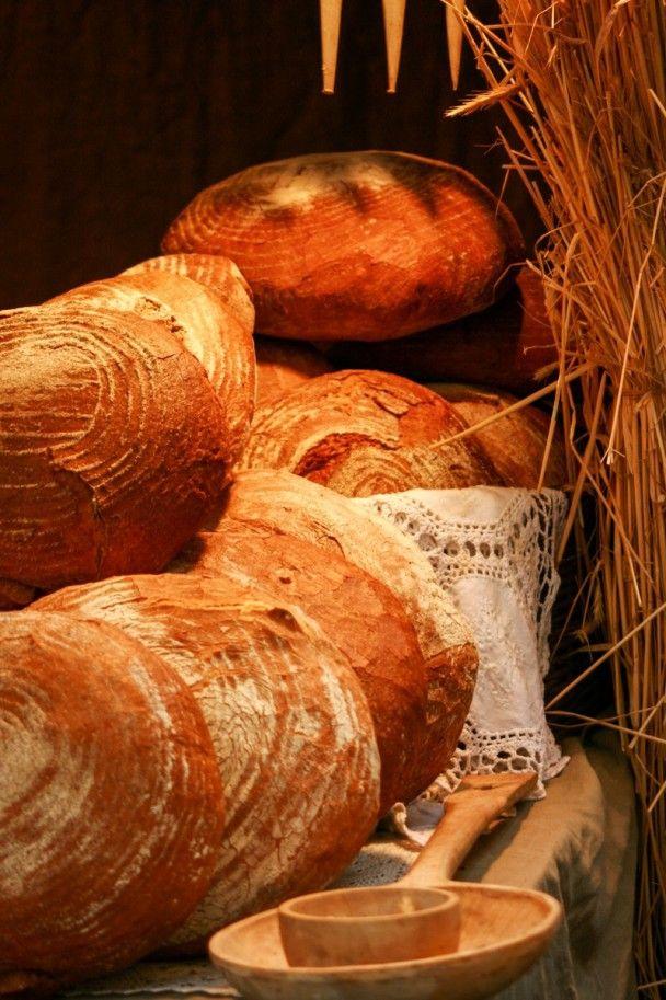 #bochny #chleba obtoczone w mące #Fotokoloryt #Fotograf #Częstochowa