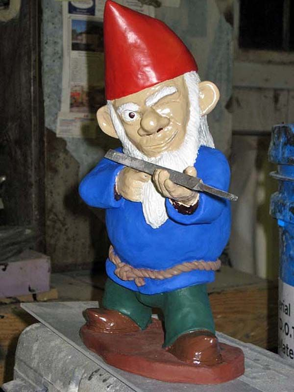 Interesting Combat Garden Gnomes For Your Garden Part 51
