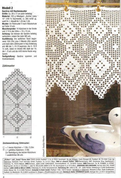 die 114 besten bilder zu h kelgardinen auf pinterest fileth kelei k chenvorh nge und t rvorh nge. Black Bedroom Furniture Sets. Home Design Ideas