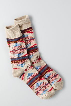 AEO Boot Socks, Blue | American Eagle Outfitters