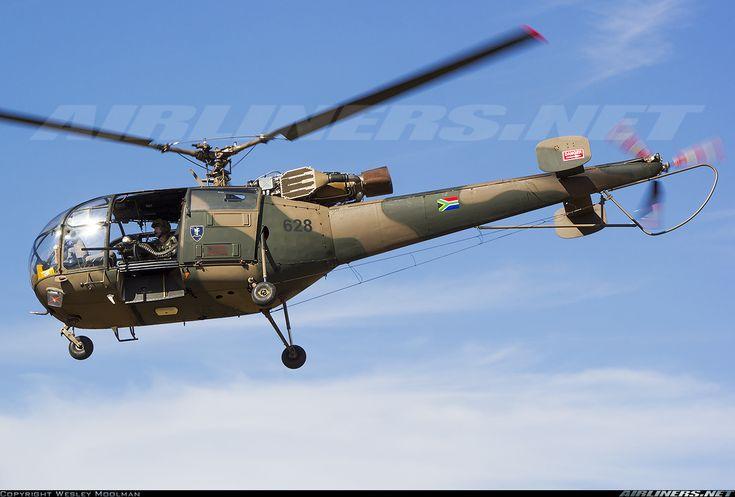South African Air Force (SAAF) Aerospatiale SA-316B Alouette III