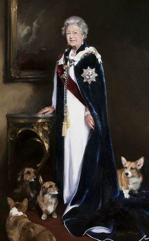 Queen Elizabeth S Royal Portrait Gets Panned Winston S