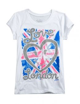 London Graphic Tee | Justice