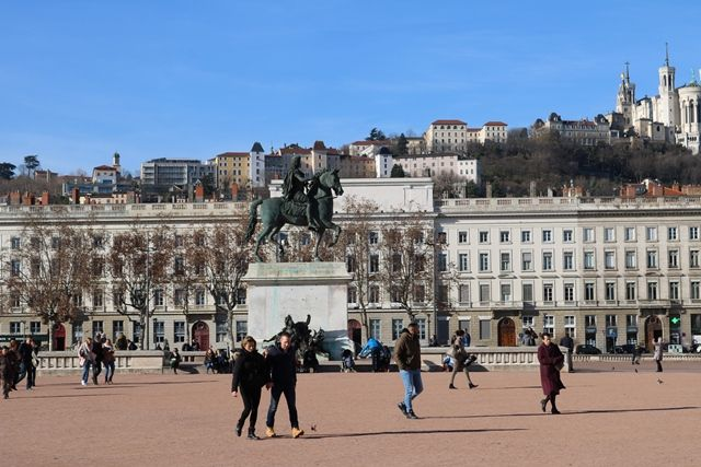 Place Bellecour, Lyon, France