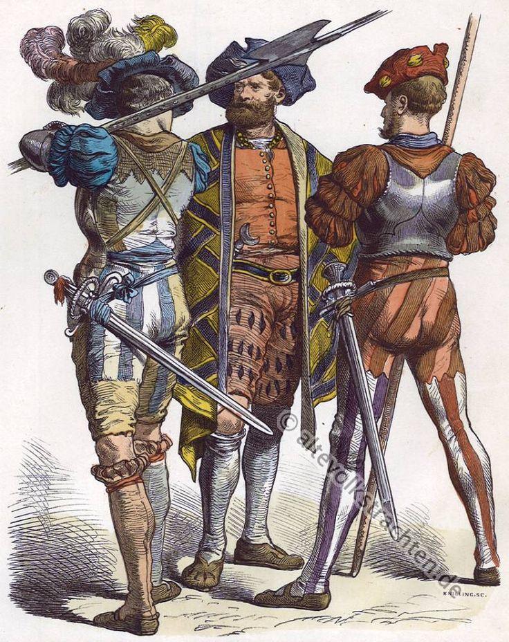 German Mercenaries c. 1520. Renaissance
