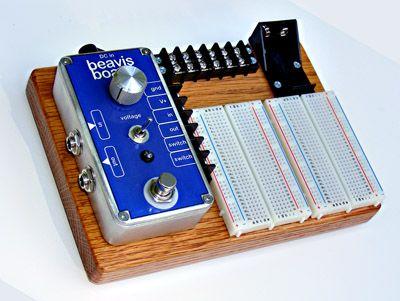 beavis board, DIY guitar effects design kit