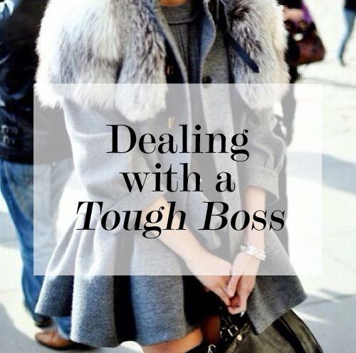 Dealing With A Tough Boss   Levo League   Career Tips