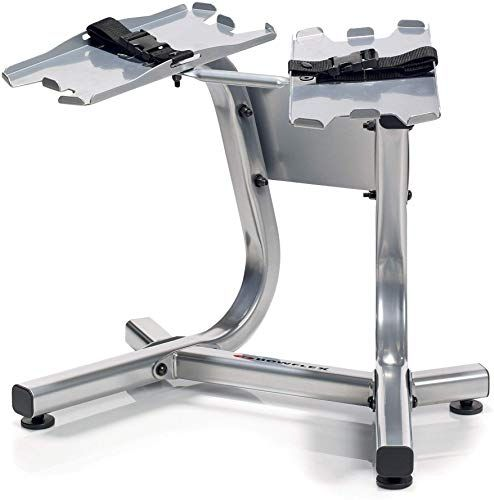 New Bowflex 100300 Selecttech Metal Dumbbell Stand Built In Towel Rack Silver Online Bowflex Bowflex Dumbbells Dumbbell Rack